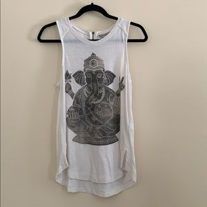 Lucky Brand Tank Top with Back Zipper- Size M